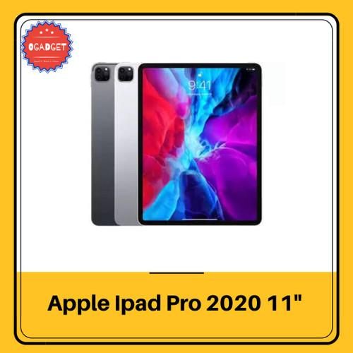Foto Produk Apple iPad Pro 4th Gen 2020 11Inch 128 256 512 GB Wifi - 128 gb, Hitam dari O-Gadget