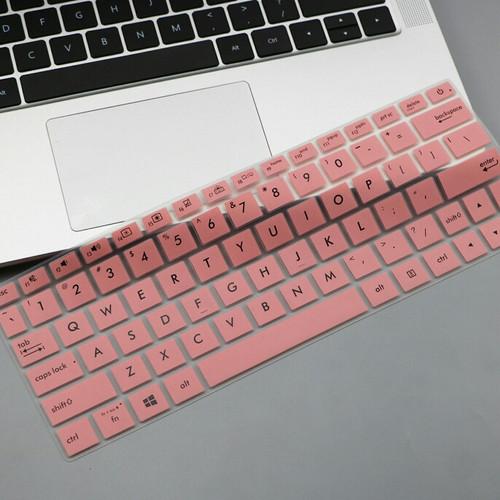 Foto Produk Keyboard Protector Asus Zenbook 13 UX333FA UX333FN UX334FLC UX334FAC - Merah Muda dari Grace-Computer