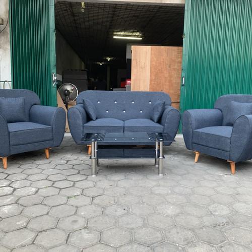 Foto Produk PROMO FREE ONGKIR SOFA TAMU MINIMALIS 211 + MEJA SCANDINAVIAN dari Sumber Hoki Furniture