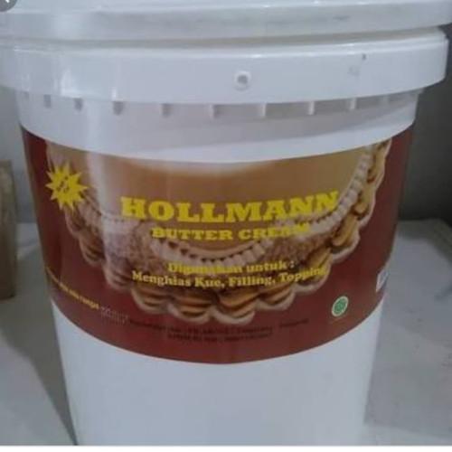 Foto Produk hollman buttercream repack 500gr dari milk n milk tea