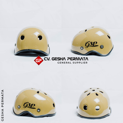 Foto Produk Helm Sepeda Lipat Warna Glossy   Helm Sepedah (PROMO!!) dari Gesha Permata
