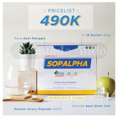 Foto Produk SOP ALPHA Bio Boost BioBoost Suplemen Immune Tubuh BPOM ORIGINAL HALAL dari @Pomade_Indo