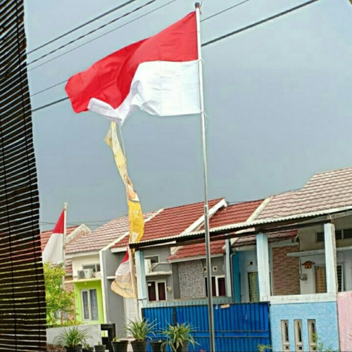 Foto Produk Tiang Bendera 3m + Bendera 80x120cm dari syakhaa