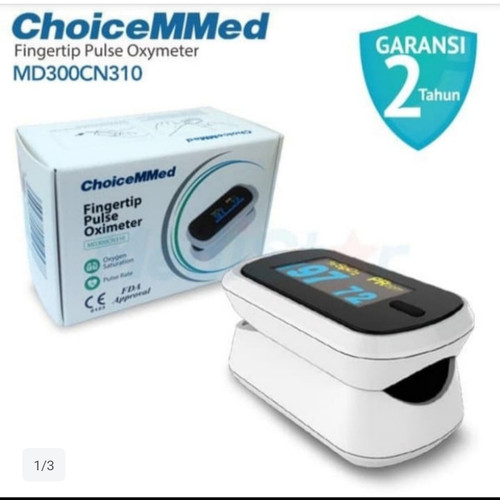 Foto Produk Choicemmed Pulse Oximeter - Oxymeter MD300CN310 dari AJ medical