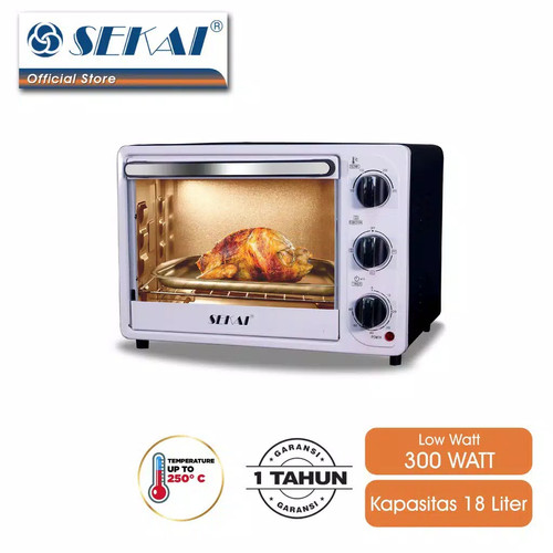 Foto Produk SEKAI oven listrik 18 liter OV180 dari Ummu HaNa Shop