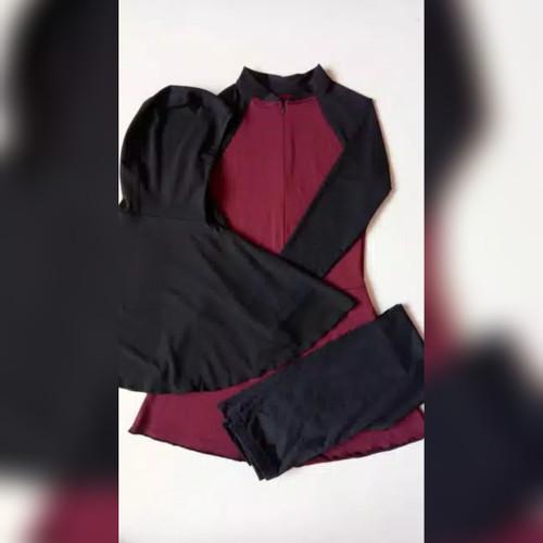 Foto Produk baju renang wanita muslimah dewasa kerudung panjang dari sakinahbusana