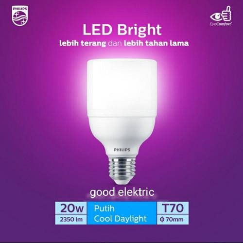 Foto Produk philips LED bright 20 watt 6500k dari good elektric
