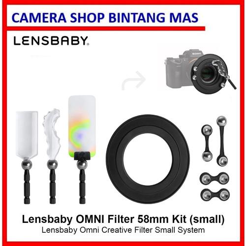 Foto Produk Lensbaby Omni Creative Filter Small System 58mm dari Camera Shop Bintang Mas