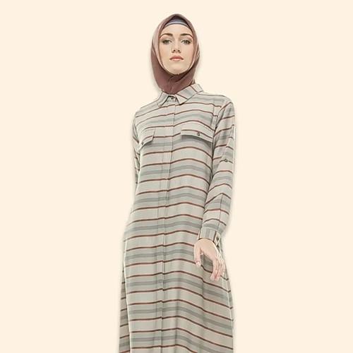 Jual Gamis Abaya Hikmat Original B8856 Kab Bekasi Al Jani Fesyen Tokopedia