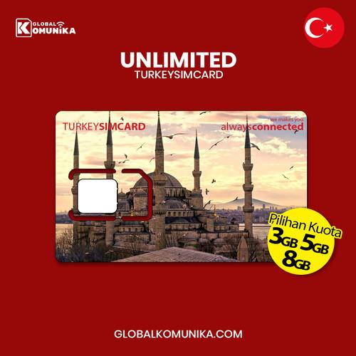 Foto Produk SIMCARD TURKEY | TURKI | QUOTA UNLIMITED - 7 Hari 3GB dari Global Komunika JKT