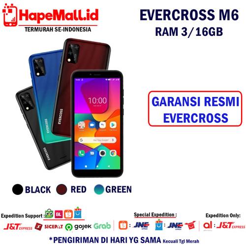 Foto Produk EVERCROSS M6 RAM 3/16GB GARANSI RESMI EVERCROSS INDONESIA TERMURAH - Hitam dari Hapemall.id