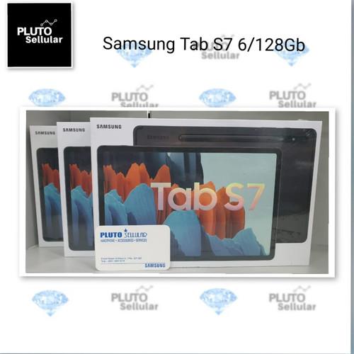 Foto Produk Samsung Galaxy Tab S7 6/128Gb Grs resmi Sein - Hitam dari Pluto sellular