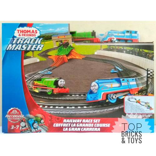 Foto Produk MATTEL, Thomas & Friends TrackMaster Motorized Railway Race Set dari Top Bricks & Toys