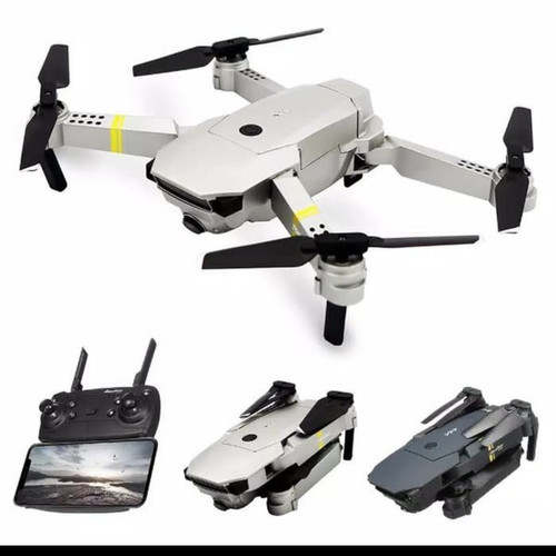 Foto Produk Eachine E58 Kamera 1080P Wifi FPV Bonus Case Drone Quadcopter Murah - Abu-abu dari RavinShop