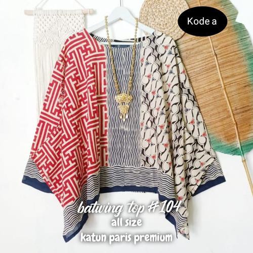 Foto Produk baju batik wanita blouse Batwing dari Batik Sri