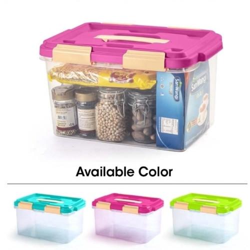 Foto Produk Container Box Ezy Box Cb15 - ContainerEzy Box 15 Liter - hijau stabilo dari Baby-B Shop