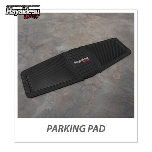 Foto Produk Hayaidesu Parking Pad Karpet Standar Tengah Motor - Hitam dari Hayaidesu Indonesia