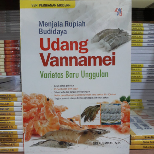 Foto Produk Buku Budidaya Udang Vannamei dari Belik Ilmu2