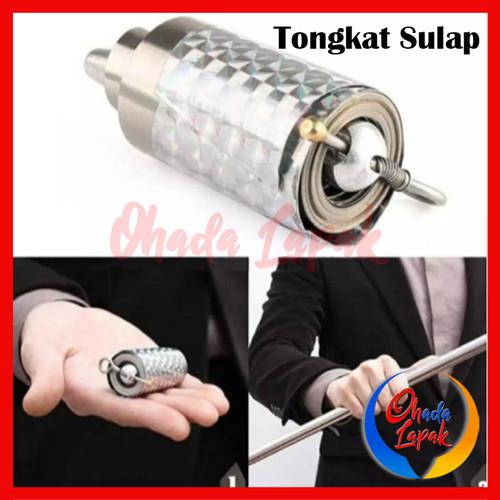 Foto Produk Tongkat Sulap Appearing Cane Metal Besi Gimmick Magic Trick dari Ohada Lapak