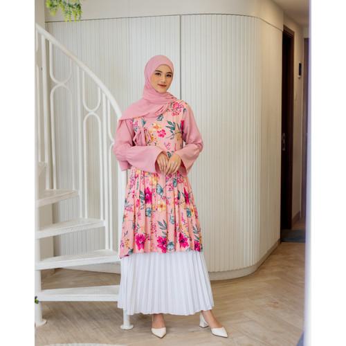 Foto Produk Tunik Hanbok Magnolia Pink Frosting Original By DRESSSOFIA - M dari DRESSSOFIA