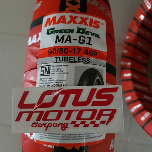Foto Produk Maxxis Tubless 90/80-17 Green Devil dari lotus motor serpong