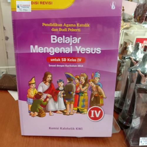 Foto Produk Buku Pendidikan Agama Katolik kelas 4 SD, Terbitan PT Kanisius dari panjitower55