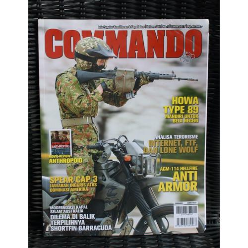 Foto Produk Majalah Commando Edisi No 1 Tahun 2017 dari Airspace Review