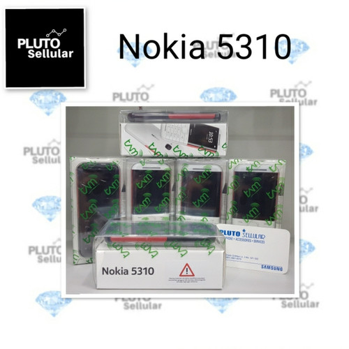 Foto Produk Nokia 5310 2020 Garansi Resmi - Black red dari Pluto sellular