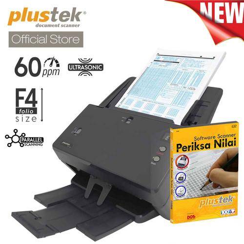 Foto Produk Scanner Plustek Periksa Nilai LJK PT2160 - 60 Lembar/menit (F4/Folio) dari Plustek Indonesia