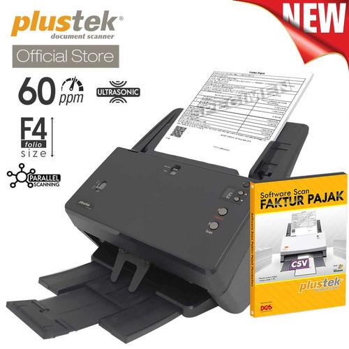 Foto Produk Scanner Plustek Faktur Pajak PT2160 - 60 Lembar/menit (F4/Folio) dari Plustek Indonesia