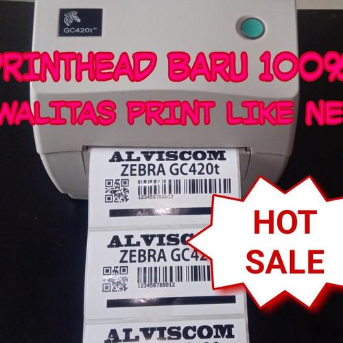 Foto Produk Printer barcode ZEBRA GC420T bergaransi dari ALVISCOM
