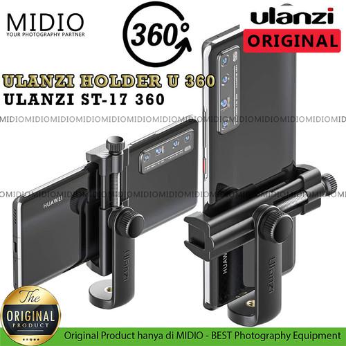 Foto Produk Ulanzi ST-17 Phone Tripod Mount Aluminum Alloy with Cold Shoe dari Midio
