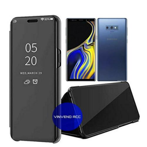 Foto Produk flip Case Samsung Galaxy Note 9 Note9 Clear View Standing Cover dari Vinvend ACC