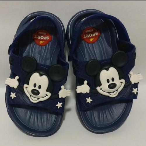 Foto Produk Sepatu Sandal Anak Mickey Mouse S19-24 Feimaguoji dari San San Collection