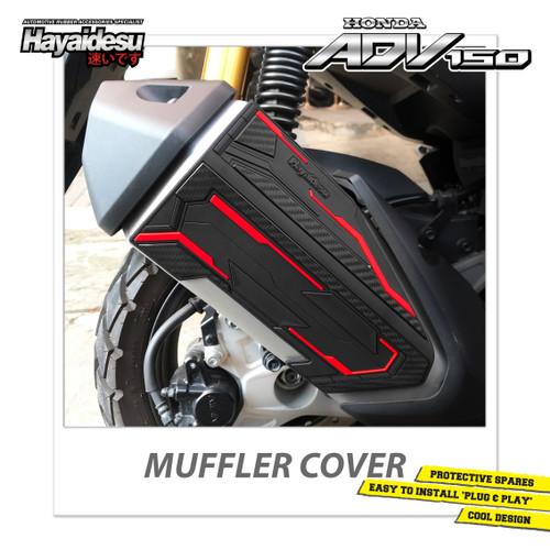 Foto Produk Hayaidesu ADV Body Protector Muffler Knalpot Cover - Merah dari Hayaidesu Indonesia