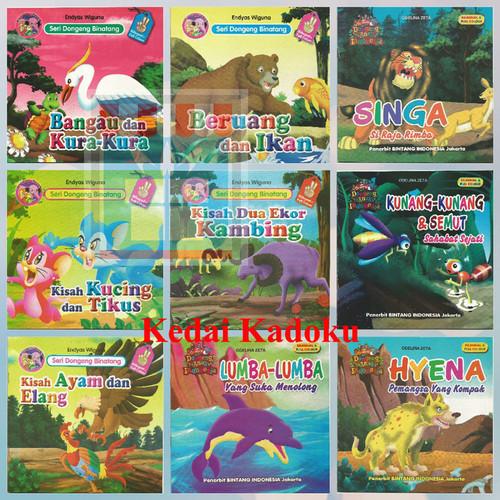 Foto Produk Paket 5 Buku Cerita Bergambar Berwarna 2 Bahasa Pilih Seri Murah dari Kedai Kadoku