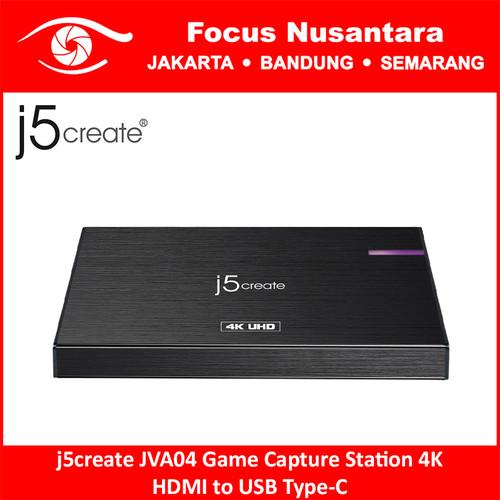 Foto Produk j5create JVA04 Game Capture Station 4K HDMI to USB Type-C dari Focus Nusantara