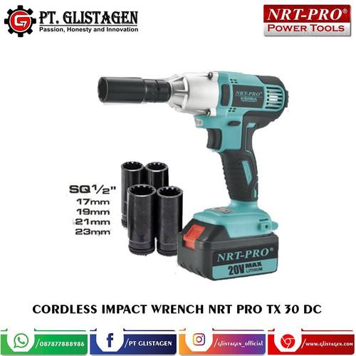 Foto Produk Mesin Bor Baterai Cordless Impact Wrench Alat Buka Baut Nrt Pro TX 30 dari PT. GLISTAGEN