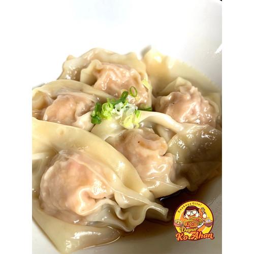 Foto Produk Pangsit Babi Rebus Ko Ahan (Frozen Pack) isi 8 Pcs dari DapurNdud