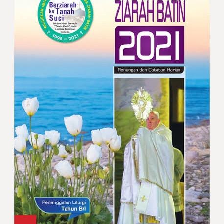 Foto Produk Buku Rohani Renungan Katolik Ziarah Ziara Batin Edisi Tahun 2021 dari Berkat Rohani