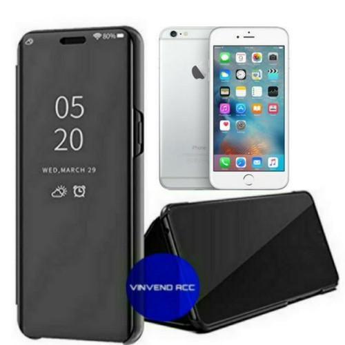Foto Produk Flip Case Iphone 7 plus/7plus/7+ Clear View Standing Cover dari Vinvend ACC