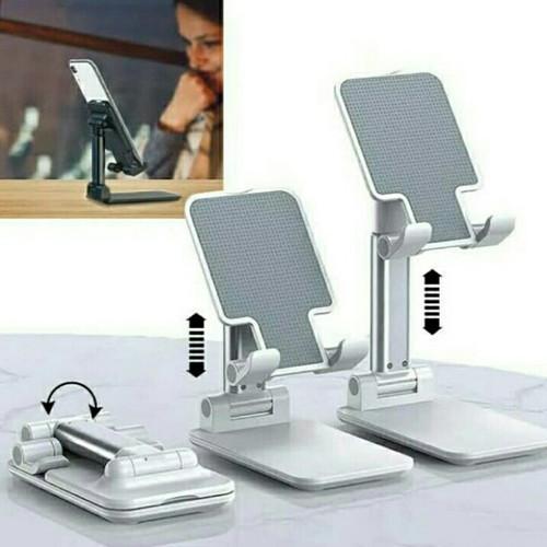 Foto Produk Folding Desktop Phone Stand Lazypod lipat Holder handphone Stand HP - Hijau dari Kreisler Shop