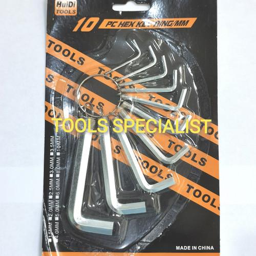 Foto Produk Kunci L 10 Pcs dari Tools Specialist