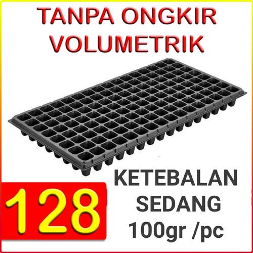 Foto Produk Tray semai pot bibit pembibitan 128 lubang (ketebalan 100gr) dari Biji Benih