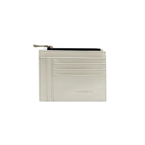 Foto Produk MINI Croco Card Wallet - Putih dari Nakedsol