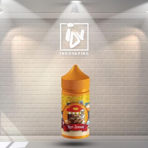 Foto Produk Liquid Vapor Vape - Roti Stasiun 9mg 100ml By Platinum Vape dari indovapingnet