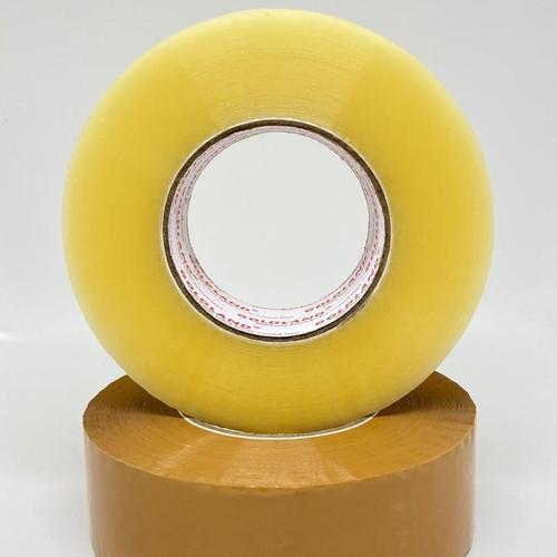 Foto Produk Lakban Bening & Coklat 45mm x 300 Meter - PROMO LAKBAN JUMBO 2 inch dari Dunia Tape