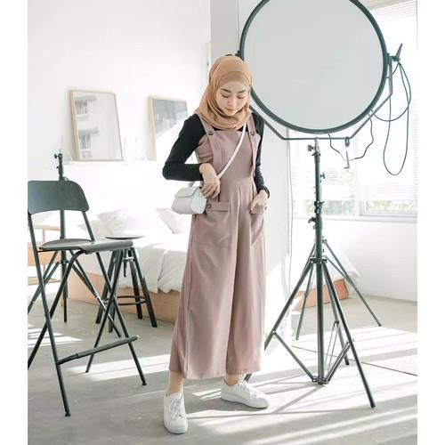 Foto Produk Borju overall pakaian wanita fashion remaja - Army dari zam collection