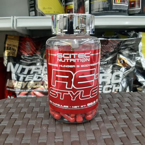 Foto Produk Scitec re style fatbuner restyle 120 capsul scitec nutrition dari Nutrisi Gym