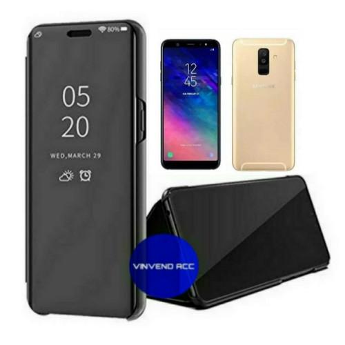 Foto Produk flip Case Samsung Galaxy A6plus A6 plus 2018 Clear View Standing Cover dari Vinvend ACC